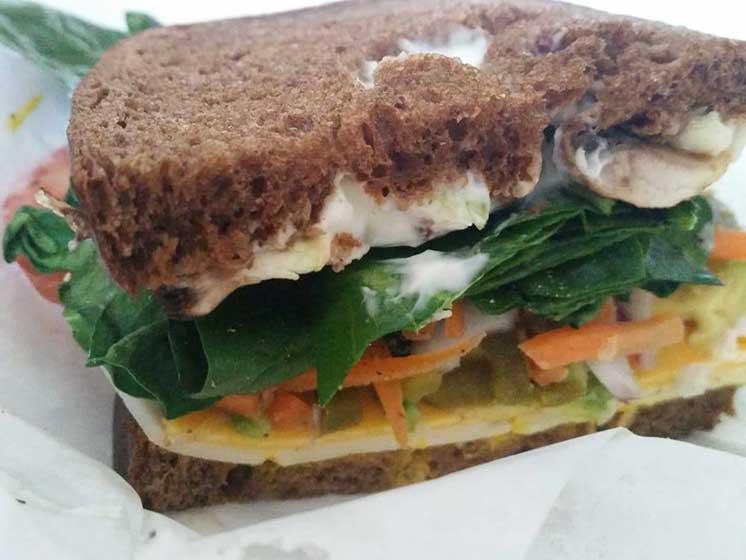 Queen B sandwich